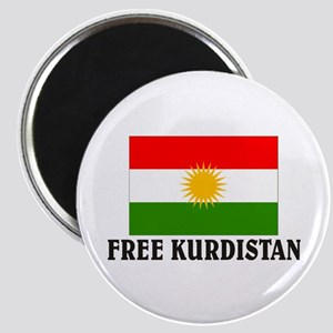 Free Kurdistan Magnet