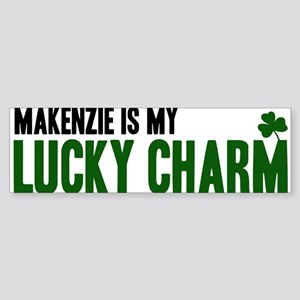 Makenzie (lucky charm) Bumper Sticker