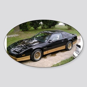 85 Trans Am Oval Sticker