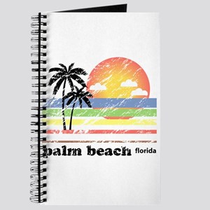 Palm Beach Florida Vintage Journal