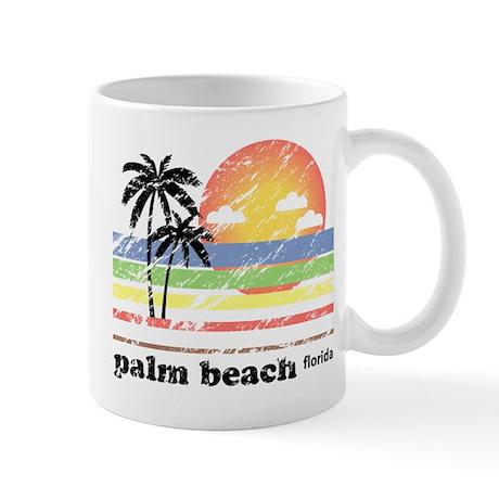 Palm Beach Florida Vintage Mug