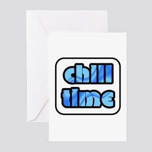 Chill Time Cool Winter Greeting Cards (Package of