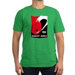 Nobody Surfs Like a Wahine Men's Fitted T-Shirt (d