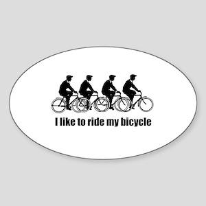 My Bicycle Sticker