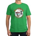 Volleydawg Men's Fitted T-Shirt (dark)
