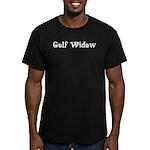 Golf Widow Men's Fitted T-Shirt (dark)