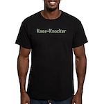 Knee-Knocker Men's Fitted T-Shirt (dark)