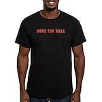 Work the Ball Men's Fitted T-Shirt (dark)
