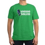 Voodoo Boilers Men's Fitted T-Shirt (dark)