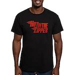 Hot in the Zipper Men's Fitted T-Shirt (dark)
