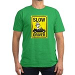 Slow Driver Men's Fitted T-Shirt (dark)