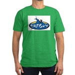 SRFBOY Men's Fitted T-Shirt (dark)