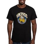 Vikings Men's Fitted T-Shirt (dark)