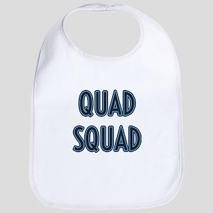 Quad Squad Baby Bib