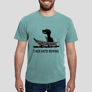 t-rex hates rowing Mens Comfort Colors® Shirt