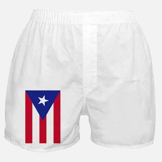 Flag of Puerto Rico - Bandera de Puer Boxer Shorts