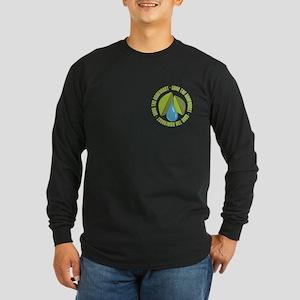 Save the Rainforest Long Sleeve Dark T-Shirt