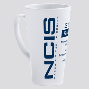 Ncis Gibbs' Rule #4 17 oz Latte Mug