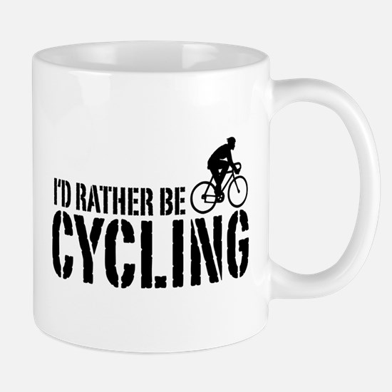 I'd Rather Be Cycling (Male) Mug