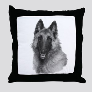 Terv Sketch Throw Pillow