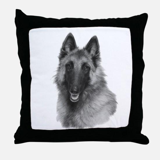 Terv Sketch Throw Pillow