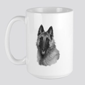 Terv Sketch Large Mug