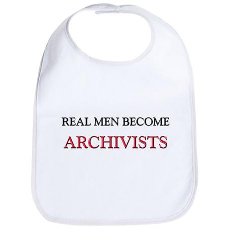 Real Men Become Archivists Bib