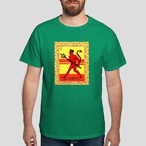 Vintage Loteria Devil Dark T-Shirt