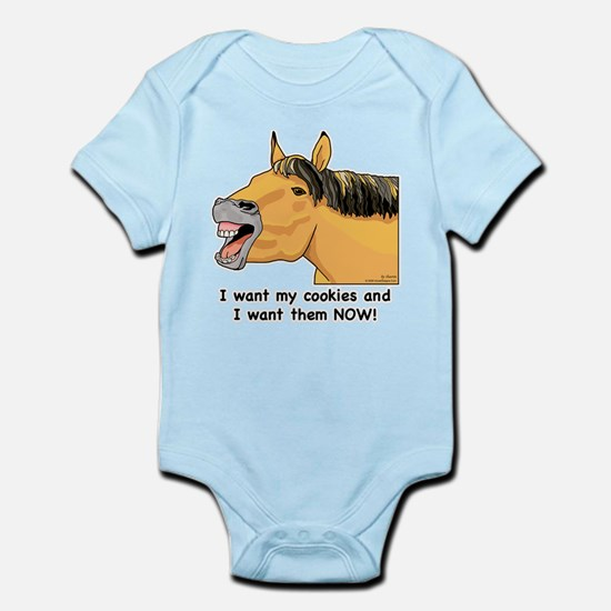 I want my Cookies! Infant Bodysuit
