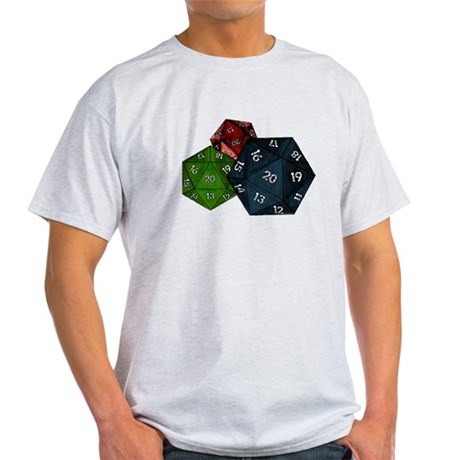 20-sided Dice Light T-Shirt