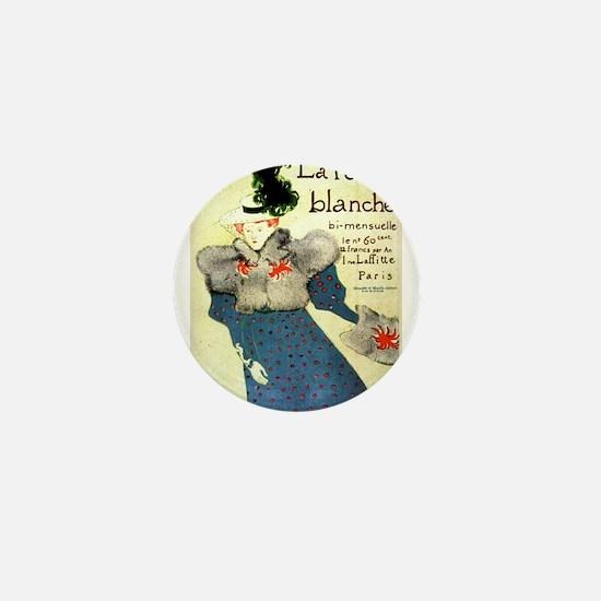 Toulouse-Lautrec Mini Button