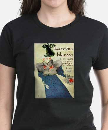 Toulouse-Lautrec Women's Dark T-Shirt