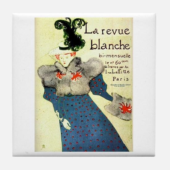 Toulouse-Lautrec Tile Coaster