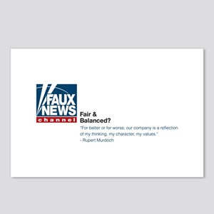 Faux News Postcards (Package of 8)