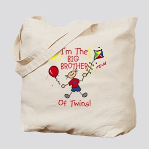 I'm The Big Brother of Twins Tote Bag