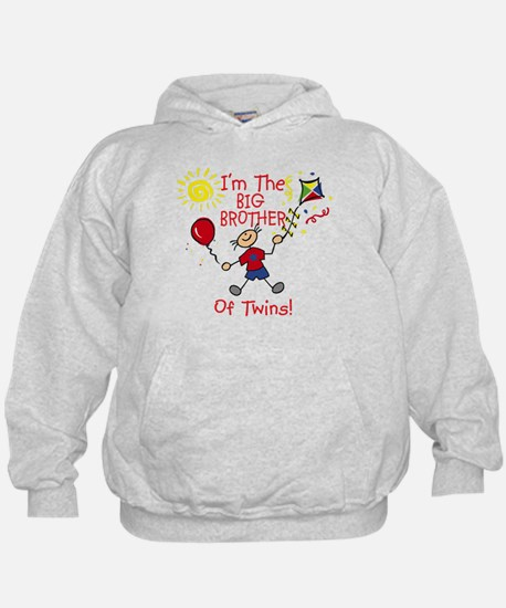 I'm The Big Brother of Twins Hoodie