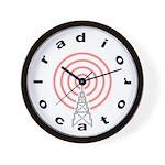 Radio-Locator Wall Clock