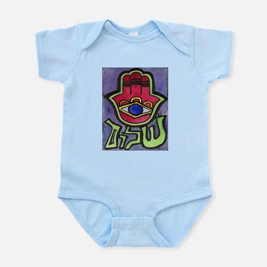 HAMSA SHALOM #1 Infant Creeper