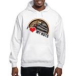 I Love My Nuts Hooded Sweatshirt