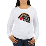 I Love My Nuts Women's Long Sleeve T-Shirt