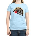 I Love My Nuts Women's Light T-Shirt