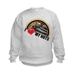 I Love My Nuts Kids Sweatshirt