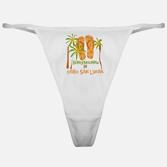 Honeymoon Cabo San Lucas Classic Thong