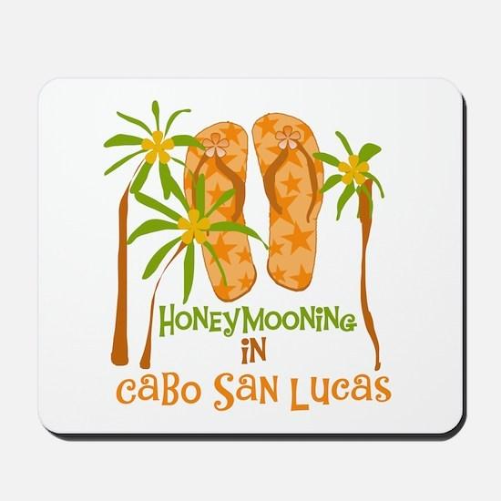 Honeymoon Cabo San Lucas Mousepad