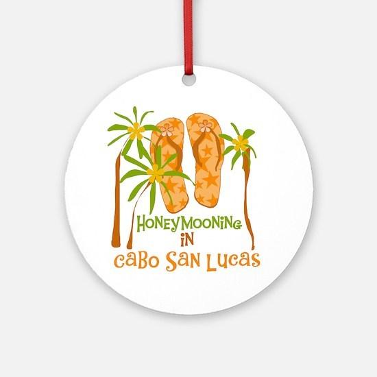 Honeymoon Cabo San Lucas Ornament (Round)