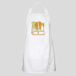 Honeymoon Cabo San Lucas BBQ Apron