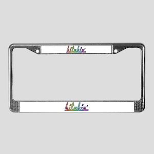 Bitchin' License Plate Frame