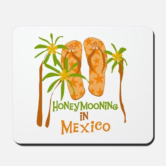 Honeymoon Mexico Mousepad