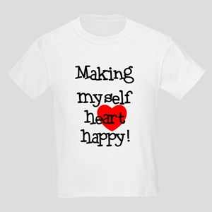 Making Heart Happy Kids Light T-Shirt