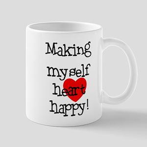 Making Heart Happy Mug
